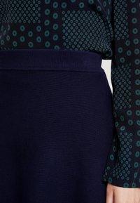 Anna Field - Áčková sukně - dark blue - 4