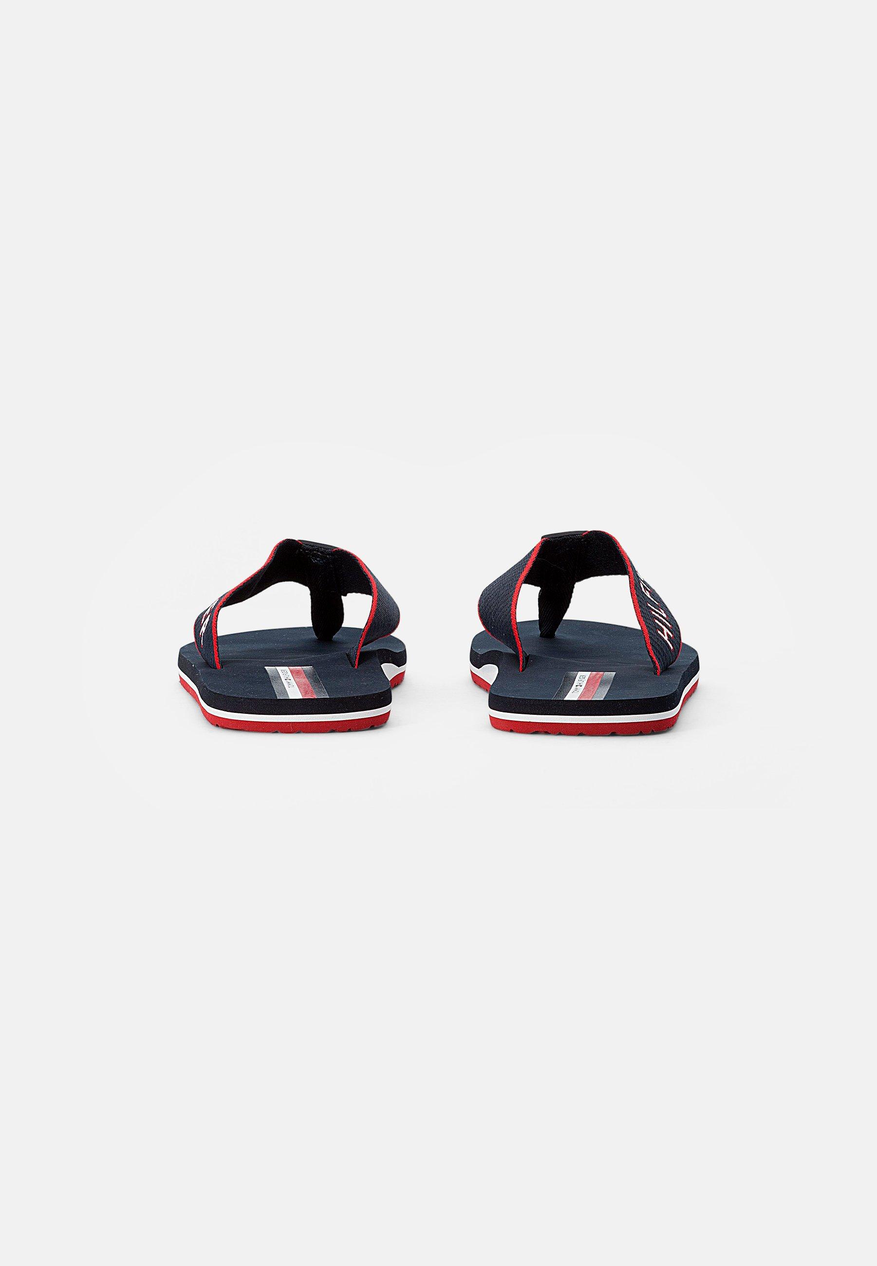 Men WEBBING BEACH SANDAL - T-bar sandals