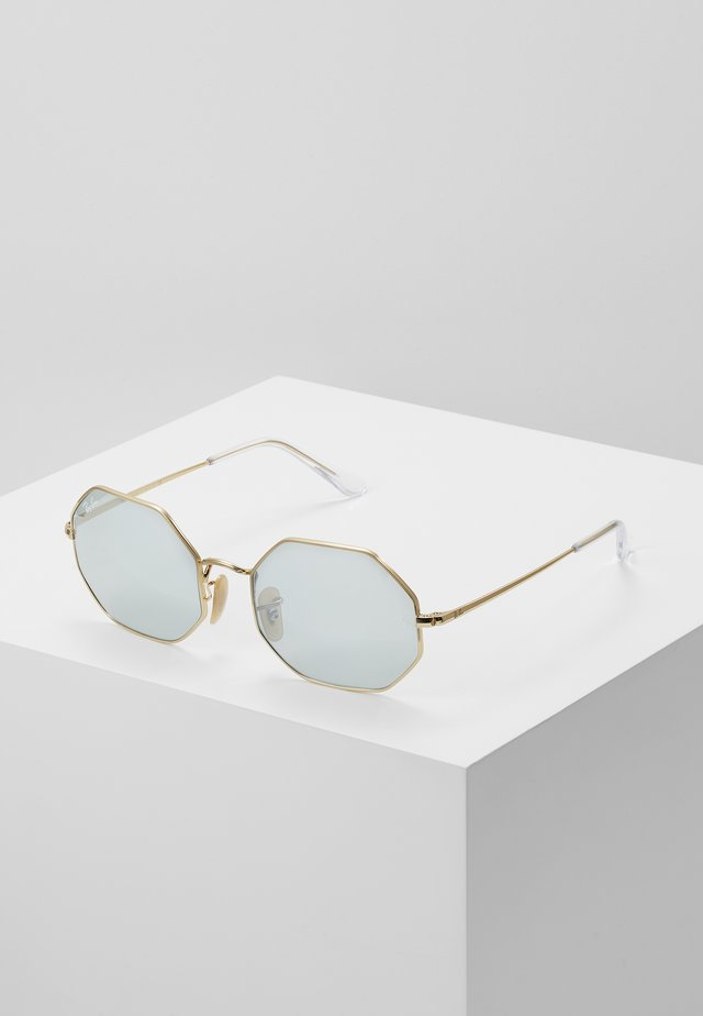 Lunettes de soleil - shiny gold-coloured