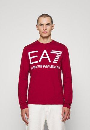 Langarmshirt - red/white