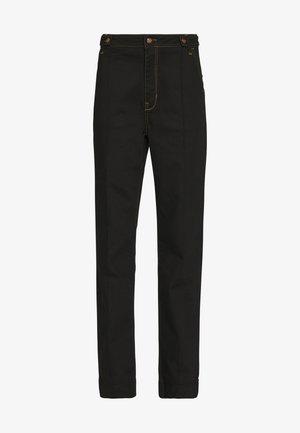AVERY PANT - Straight leg jeans - black denim