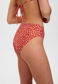 Nümph - Bikini bottoms - red clay - 3