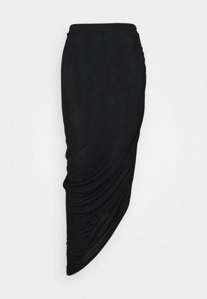 ONLRIKKA SKIRT  - A-snit nederdel/ A-formede nederdele - black