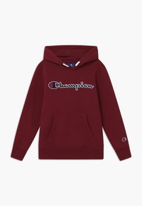 Champion - ROCHESTER LOGO HOODED  - Hoodie - bordeaux - 0