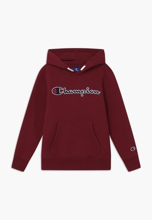 ROCHESTER LOGO HOODED  - Sweat à capuche - bordeaux