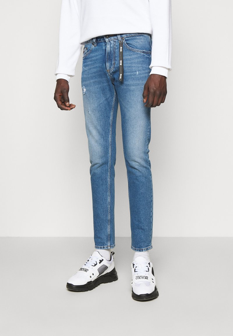 Versace Jeans Couture - DRILL - Slim fit jeans - light-blue denim