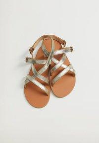 Mango - Sandals - gold - 5