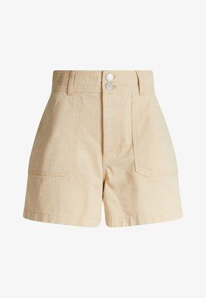 TJW HARPER HIGH RISE - Shorts - sahara tan