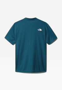 The North Face - M ACTIVE TRAIL POLO - T-shirt imprimé - mallard blue - 1