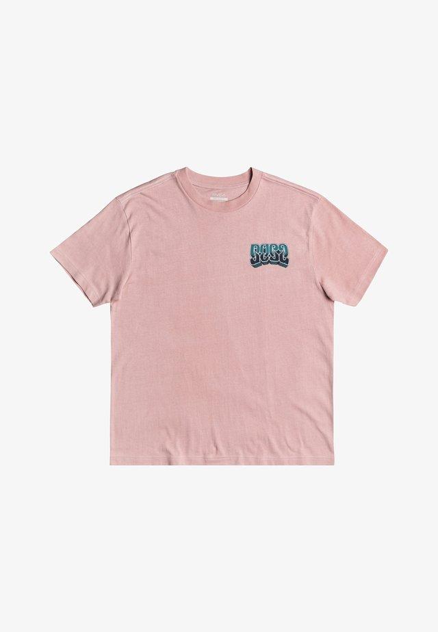 MARTIN ANDER ADRESTIA - T-shirt imprimé - pale mauve