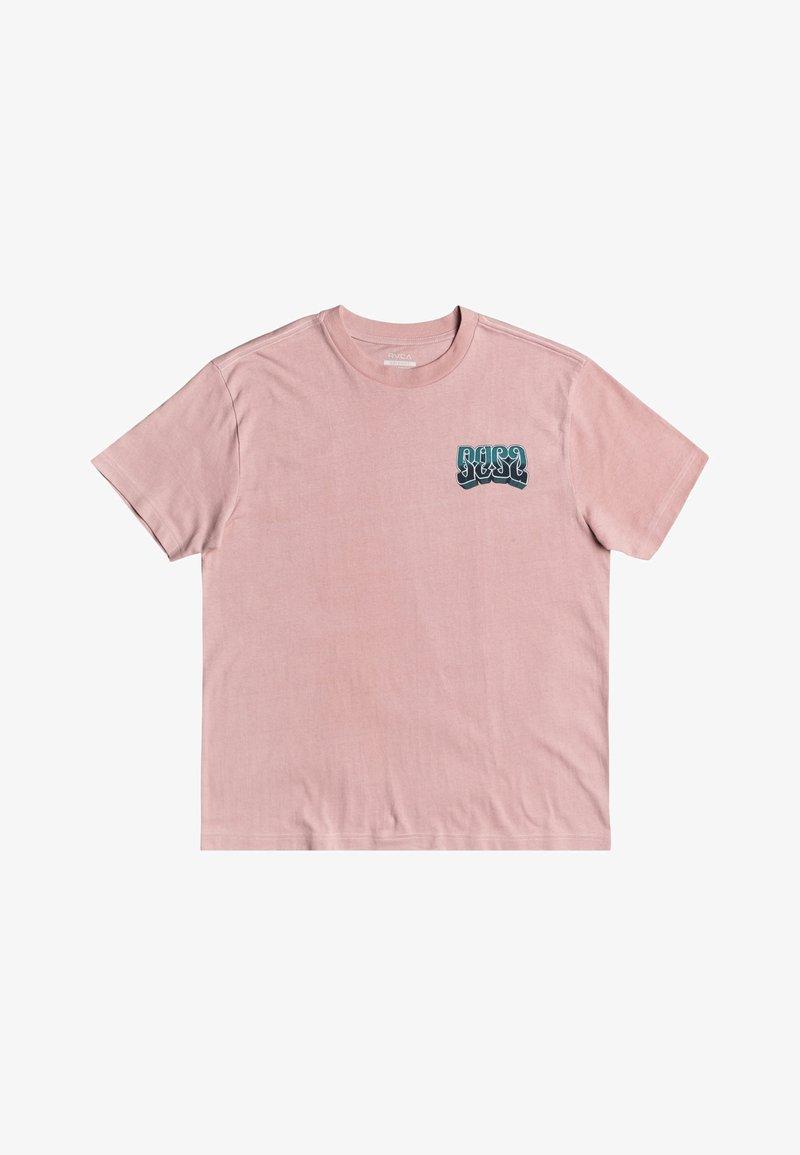 RVCA - MARTIN ANDER ADRESTIA - Print T-shirt - pale mauve
