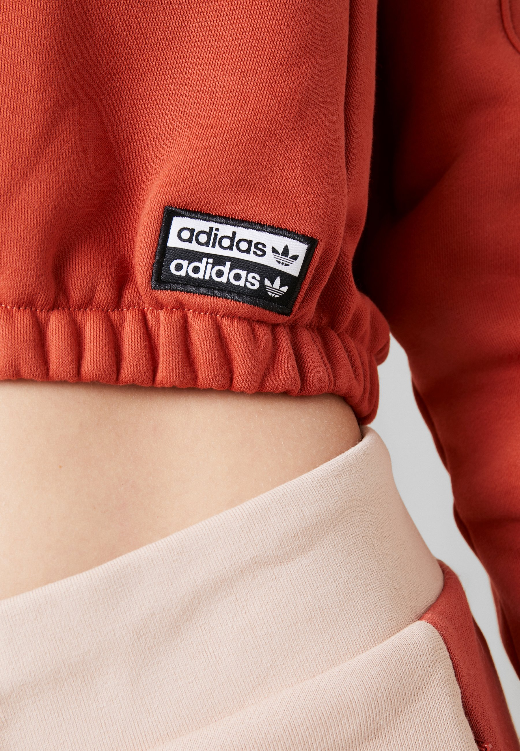 HOODIE CROPPED Sweat à capuche shift orange
