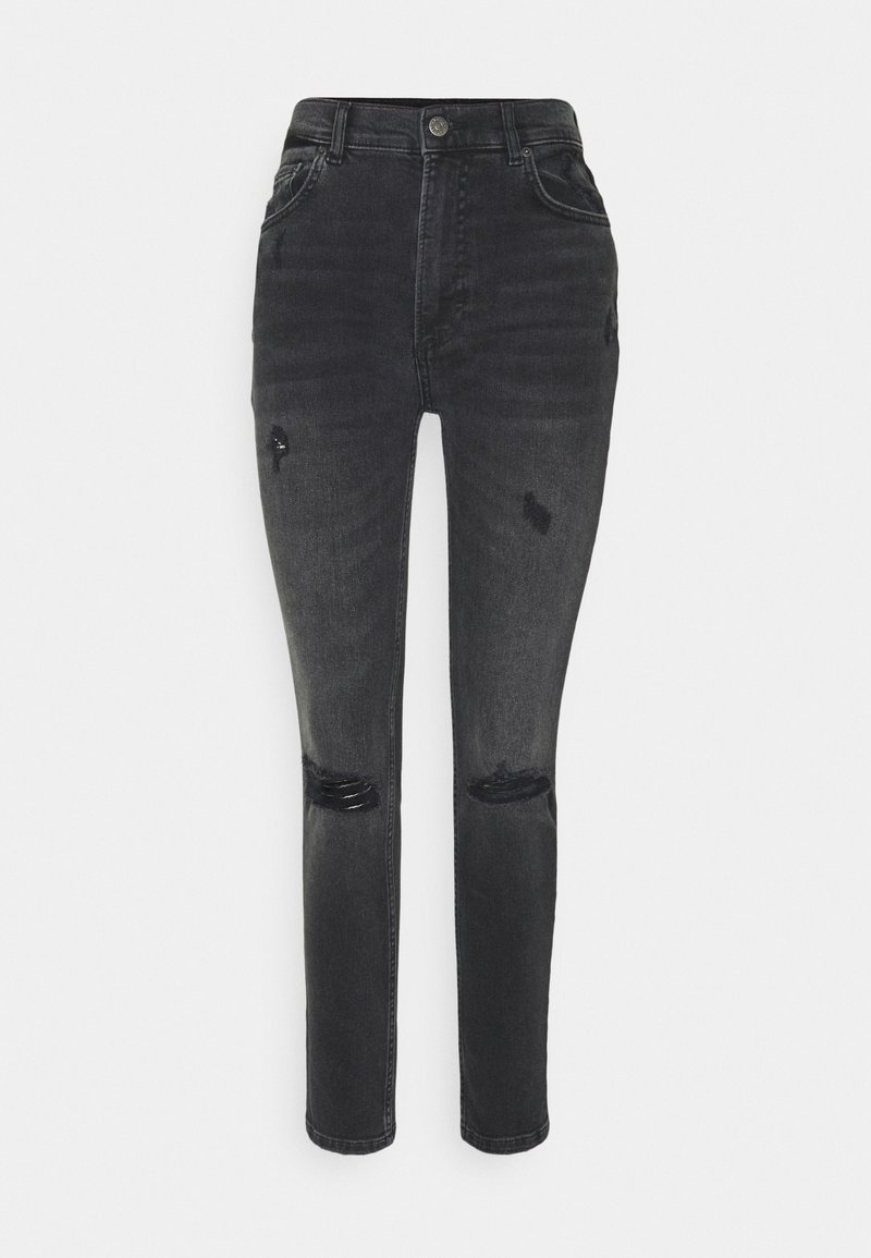 Boyish - ZACHARY HIGH RISE SKINNY - Jeans Skinny Fit - dark grey