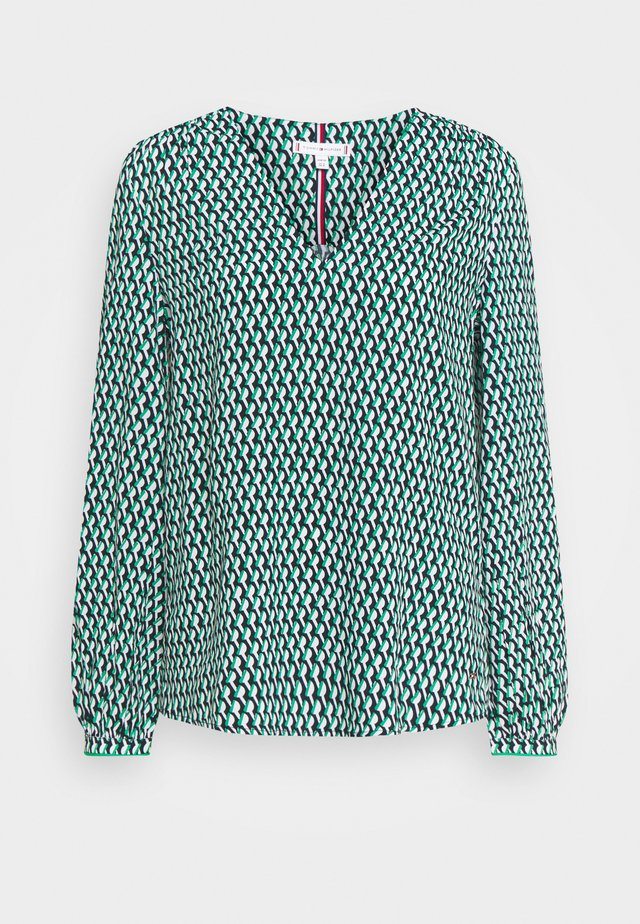 BLOUSE - Blouse - primary green
