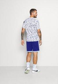 Nike Performance - DRY ACADEMY SHORT  - Sports shorts - deep royal blue/armory blue/white - 0