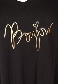 Zizzi - Print T-shirt - black - 4