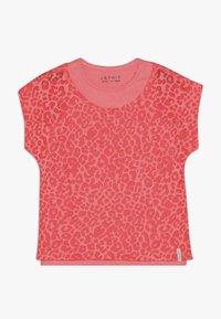 Esprit - T-shirt print - neon coral - 0