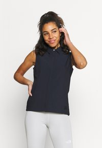 Icepeak - ALNA - Button-down blouse - dark blue - 0