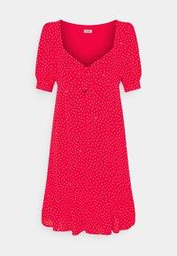 Liu Jo Jeans - ABITO - Day dress - red pois - 5