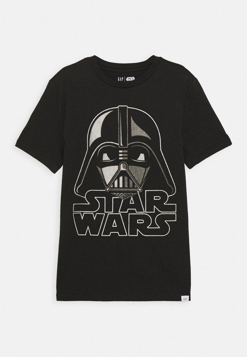 GAP - BOY TEE - T-shirt z nadrukiem - moonless night