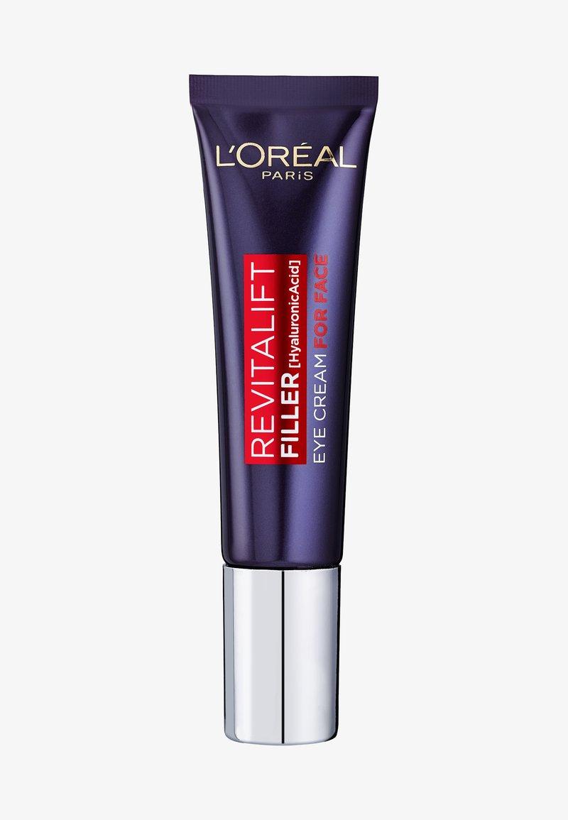 L'Oréal Paris - REVITALIFT FILLER EYE CREAM - Eyecare - -