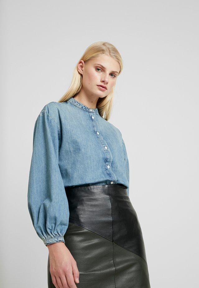 RODEO - Button-down blouse - light indigo