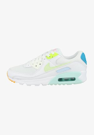 AIR MAX 90 - Sneakers laag - white-barely volt-aurora green-volt