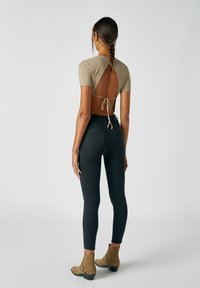 PULL&BEAR - Jeans Skinny Fit - mottled black - 2