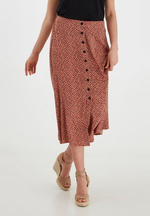 A-line skirt - etruscan red mix