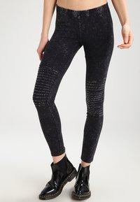 Urban Classics - Leggings - Trousers - darkgrey - 0