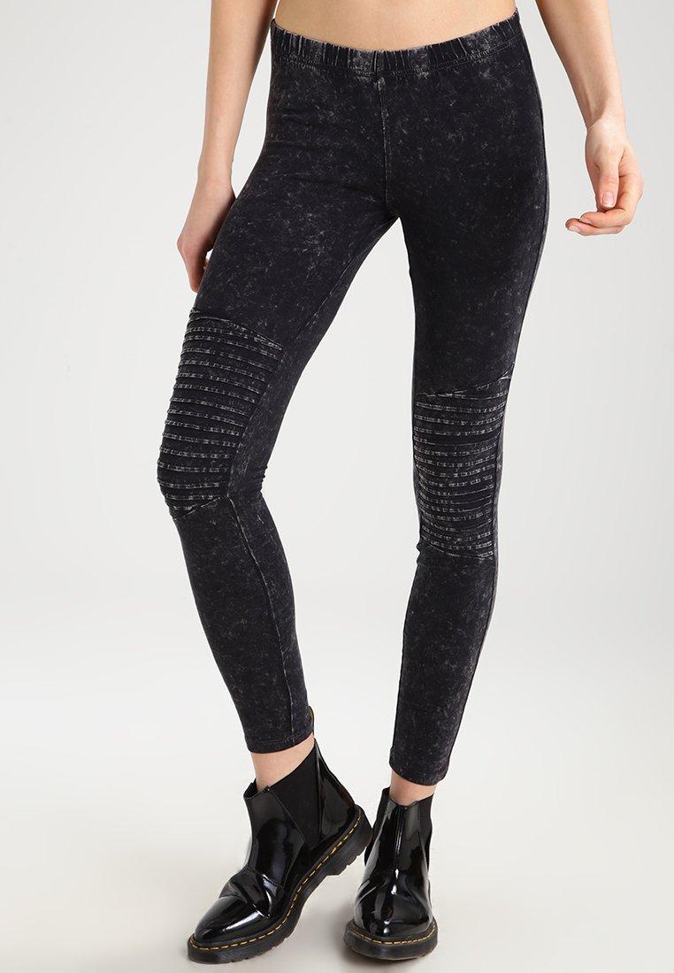 Urban Classics - Leggings - Trousers - darkgrey