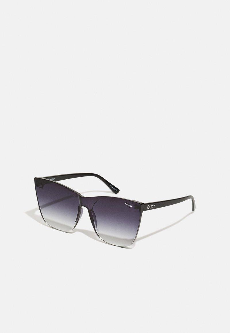 QUAY AUSTRALIA - COME THRU - Sluneční brýle - black/black