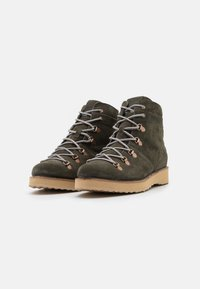 Roxy - SPENCIR - Lace-up ankle boots - olive - 2