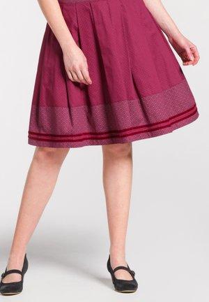NALANI - A-line skirt - red