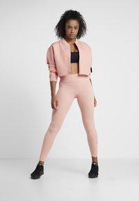Nike Performance - ONE - Medias - pink quartz/black - 1