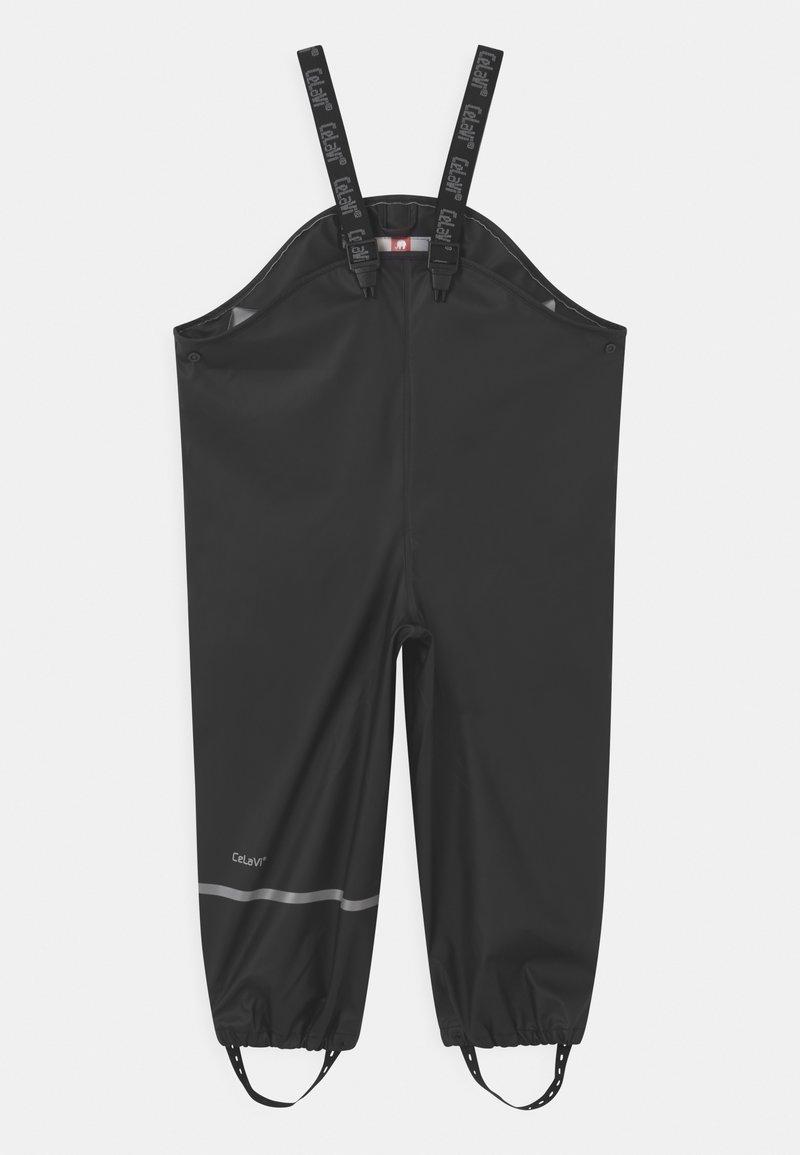 CeLaVi - RAINWEAR PANTS  RAINWEAR UNISEX - Rain trousers - black