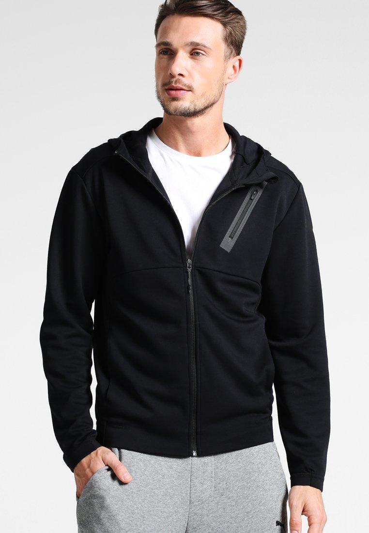 Puma - BONDED TECH  - Fleece jacket - black