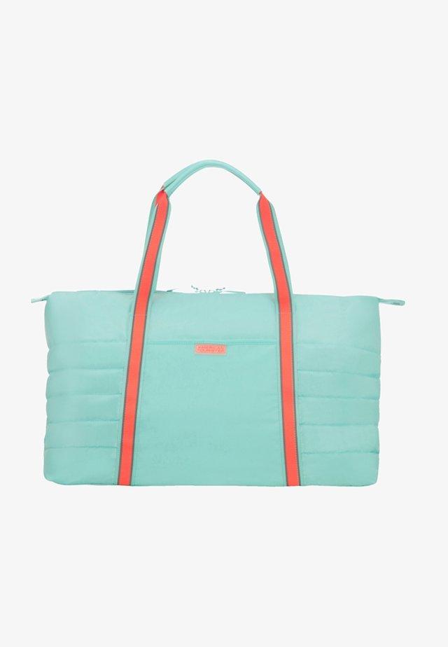 UPTOWN VIBES - Weekend bag - mint/peach