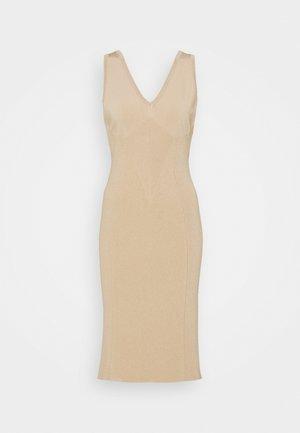 DRESS - Jumper dress - beige