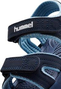 Hummel - WAVE - Walking sandals - black iris - 4