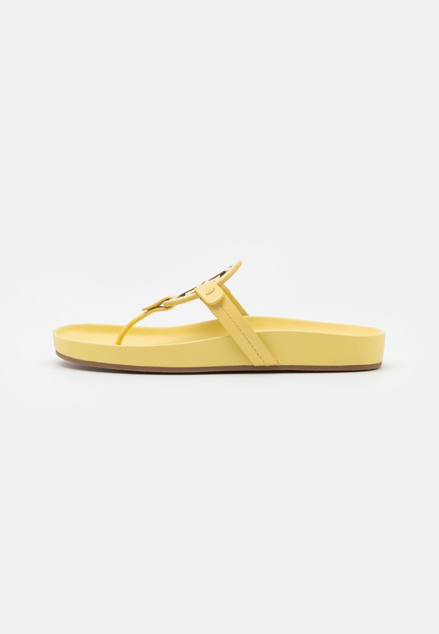 MILLER CLOUD - Zehentrenner - butter yellow