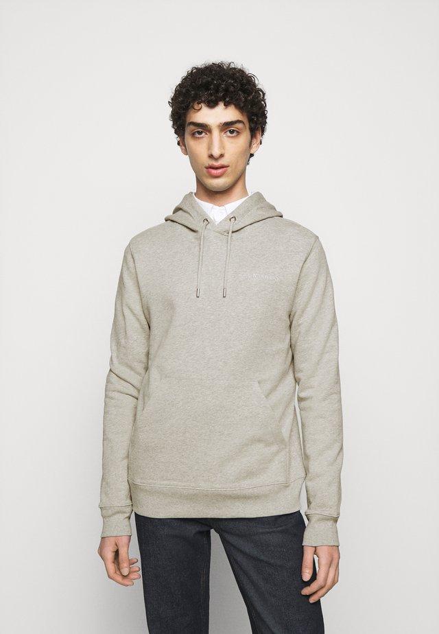 THROW CLEAN HOODIE - Sweater - grey melange