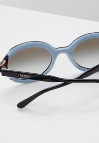 Prada - Solbriller - top black/azure/spotted brown - 4