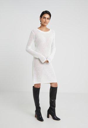 DRESS - Strikket kjole - offwhite