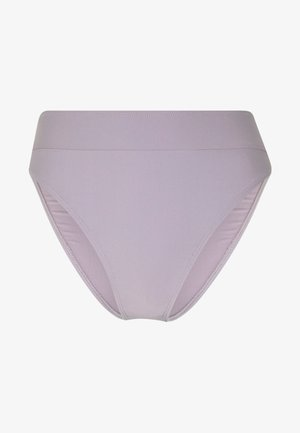 MAXI HIGH WAIST PANTY - Spodní díl bikin - dusty lilac