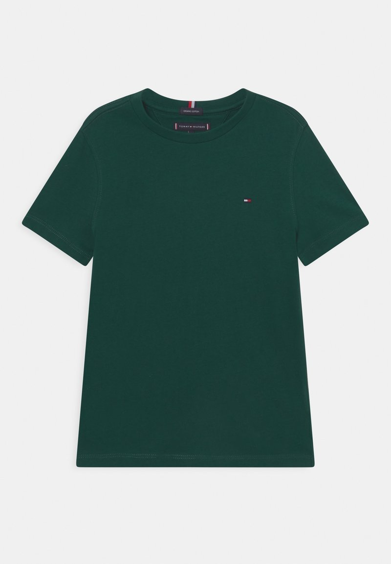 Tommy Hilfiger - ESSENTIAL TEE  - T-Shirt basic - ornamental green