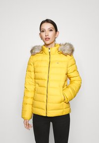 Tommy Jeans - BASIC HOODED JACKET - Doudoune - yellow - 0