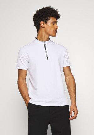 T-shirt basic - white/black