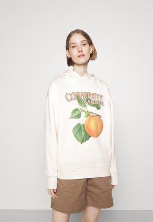 PEACH HOODIE - Sweatshirt - ecru