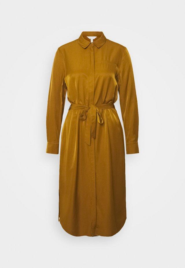 OBJEILEEN DRESS SEASONAL - Shirt dress - tapenade